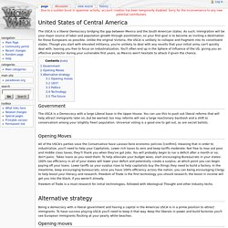 United States of Central America - Vicky2Wiki