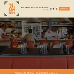 24 Diner — Central Austin Restaurant, 6th Street + Lamar, Open 24 Hours