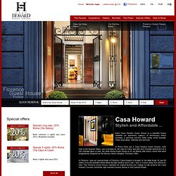 Casa Howard: Guest House central Florence and Rome, Italy - Official website