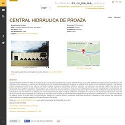 Central hidráulica de Proaza