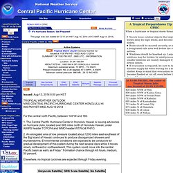 Central Pacific Hurricane Center - Honolulu, Hawai`i