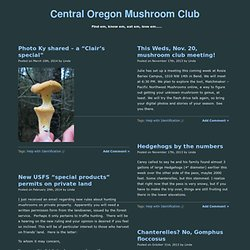 Central Oregon Mushroom Club