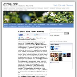 Central Park in the Cinema