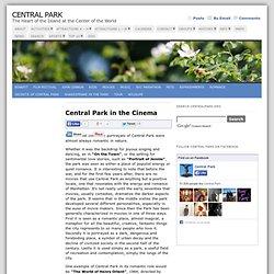 Central Park in the Cinema
