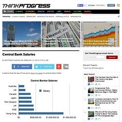 Matthew Yglesias » Central Bank Salaries