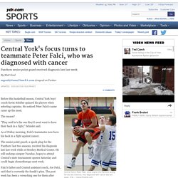 Central York's focus turns to teammate Peter Falci, who was diagnosed with cancer - GameTimePA.com