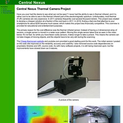 Central Nexus Thermal Camera Project