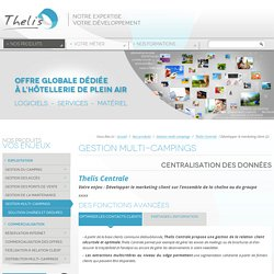 Centrale - Actions marketing pour campings de ...