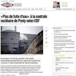 «Plus de fuite d'eau» à la centrale nucléaire de Penly selon EDF