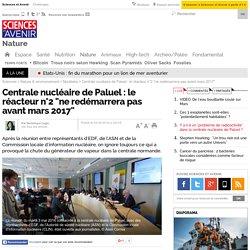"""Centrale nucléaire de Paluel : le réacteur n°2 """"ne redémarrera pas avant mars 2017"""""""