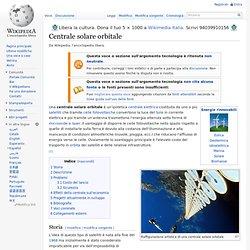 Centrale solare orbitale