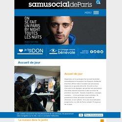 Centre d'accueil de jour pour SDF - Samusocial de Paris