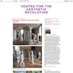 CENTRE FOR THE AESTHETIC REVOLUTION