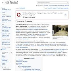 Centre de données