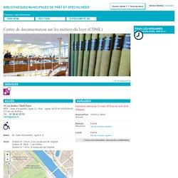 Centre de documentation sur les métiers du livre (CDML)