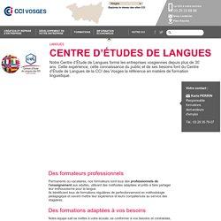Centre d'études de langues - CCI des Vosges