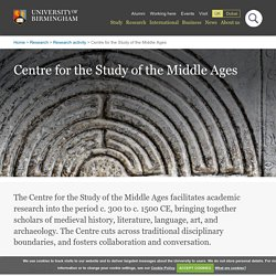 Centre for the Study of the Middle Ages
