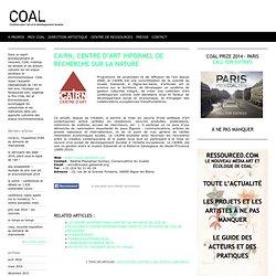 2000 Programme de recherche le CAIRN