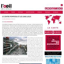 Le Centre Pompidou et les sans logis