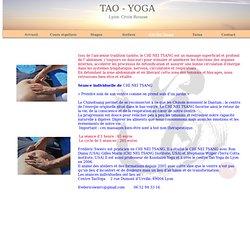 Centre Tao Yoga Lyon Croix Rousse chi nei tsang