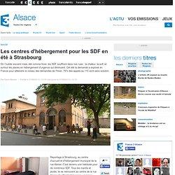 Les centres d'hébergement pour les SDF en été à Strasbourg
