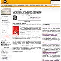 Centres d'information : Centre d'information du jazz (CIJ) :