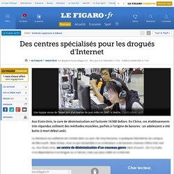 Des centres spécialisés pour les drogués d'Internet