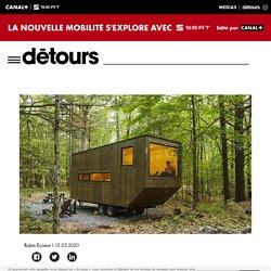 Fuir les centres-villes avec ces cabanes à deux heures de Paris