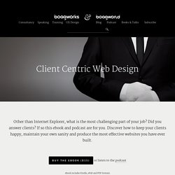 Client Centric Web Design Archives - Boagworld - Web & Digital Advice
