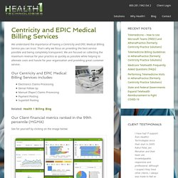 Centricity Medical Billing Service