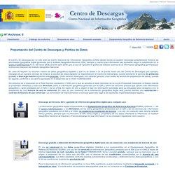 Centro de Descargas del CNIG