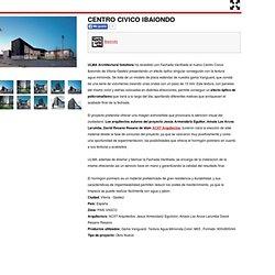 CENTRO CIVICO IBAIONDO