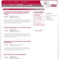 CIC ESPM – Centro de Inovação e Criatividade