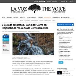 Viaje a la catarata El Salto del Calvo en Hojancha, la más alta de Centroamérica