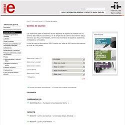 Centros de examen - Diplomas de Español DELE