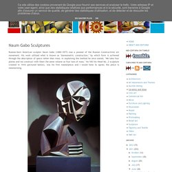 MID-CENTURIA : Art, Design and Decor from the Mid-Century and beyond: Naum Gabo Sculptures