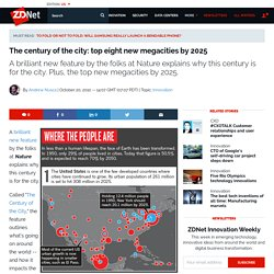 The century of the city: top eight new megacities by 2025