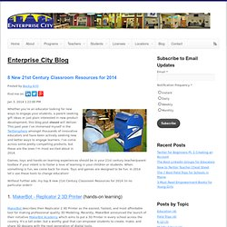 8 New 21st Century Classroom Resources for 2014
