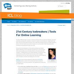 21st Century Icebreakers