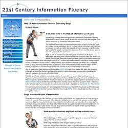 21st Century Information Fluency