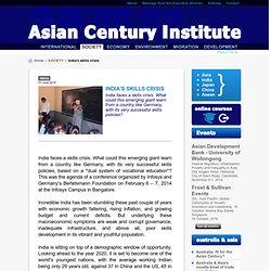 Asian Century Institute - India's skills crisis
