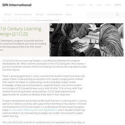 21st Century Learning Design (21CLD)