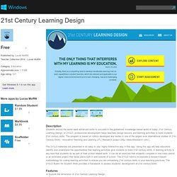 21st Century Learning Design app for Windows in the Windows Store