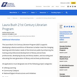 Laura Bush 21st Century Librarian Program