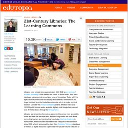 21st-Century Libraries: The Learning Commons