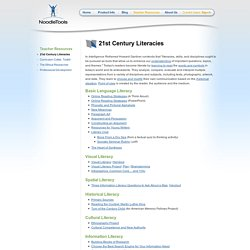 21st Century Literacies: Tools for Reading the World