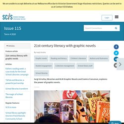 21st-century literacy with graphic novels