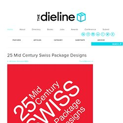25 Mid Century Swiss Package Designs
