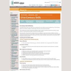 21st Century Skills Definitions