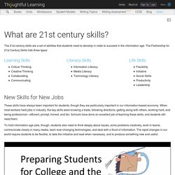 What are 21st century skills?